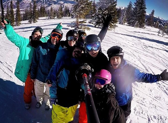 Top of Snowmass with the gang. #wearem2sports #xgames – from Instagram